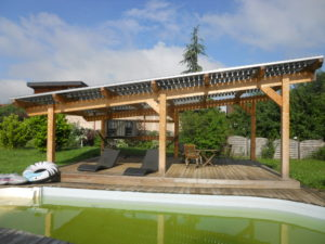 Solar pergola Produce your electricity