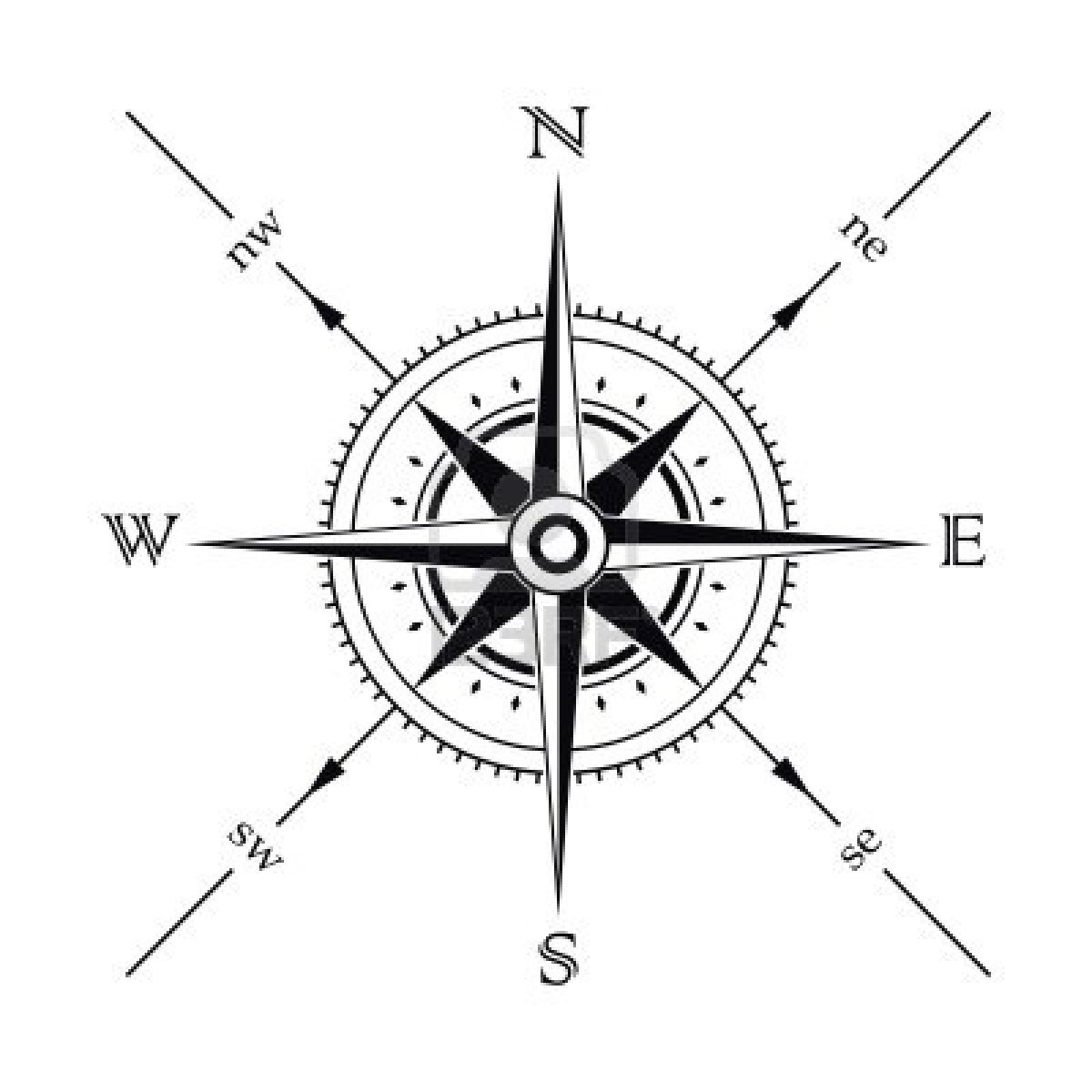Simple Compass Designs Sh