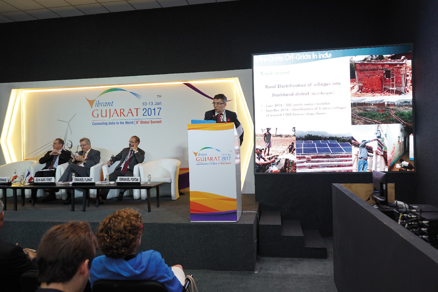 VERTEOLE was selected to present at the Indian show (VibrantGujarat 2017)